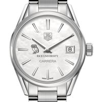 Rice University Women's TAG Heuer Steel Carrera with MOP Dial