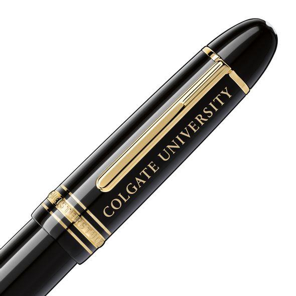Colgate Montblanc Meisterstück 149 Fountain Pen in Gold - Image 2