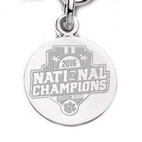 Clemson Sterling Silver Charm - Championship Edition