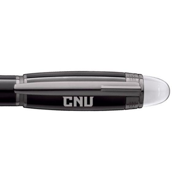 Christopher Newport University Montblanc StarWalker Fineliner Pen in Ruthenium - Image 2