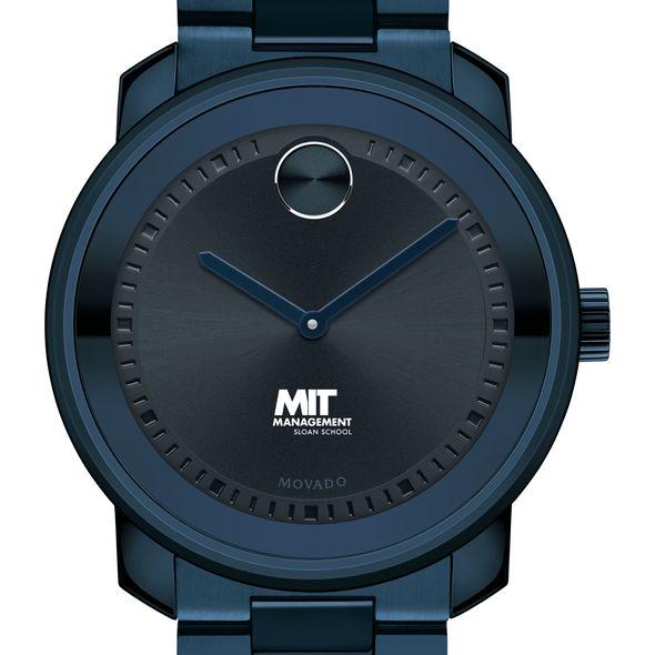 MIT Sloan School of Management Men's Movado BOLD Blue Ion with Bracelet - Image 1