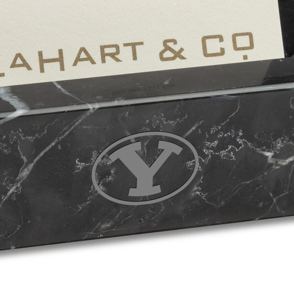 BYU Marble Business Card Holder - Image 2