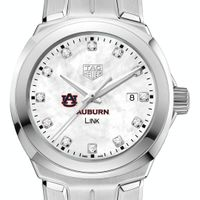 Auburn University TAG Heuer Diamond Dial LINK for Women
