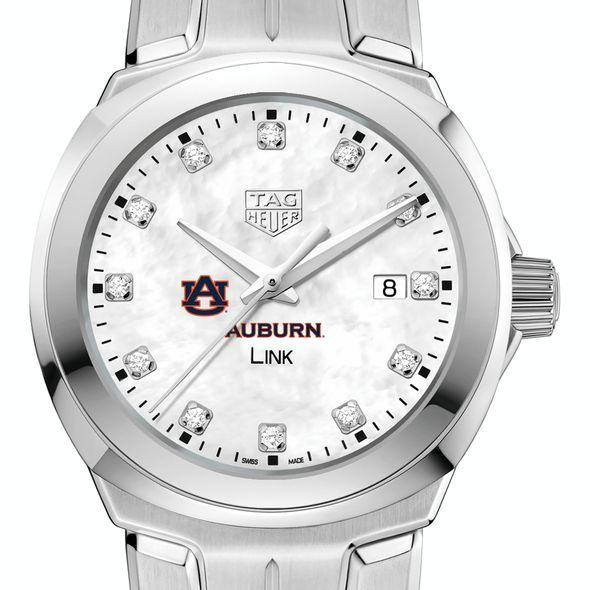 Auburn University TAG Heuer Diamond Dial LINK for Women