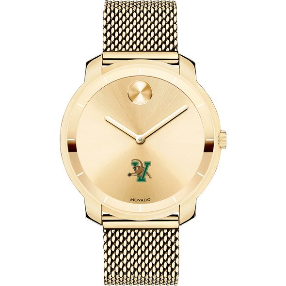 University of Vermont Women's Movado Gold Bold 36 - Image 2
