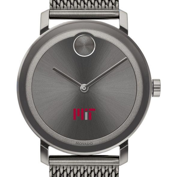 MIT Men's Movado BOLD Gunmetal Grey with Mesh Bracelet