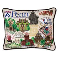 Penn Embroidered Pillow