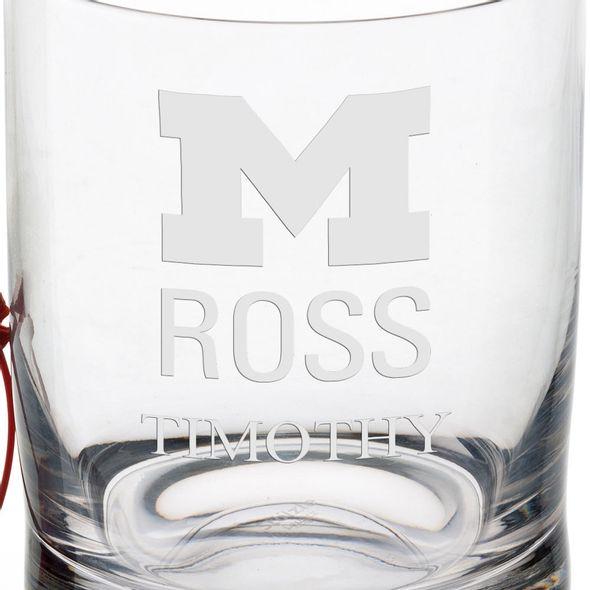 Michigan Ross Tumbler Glasses - Set of 4 - Image 3