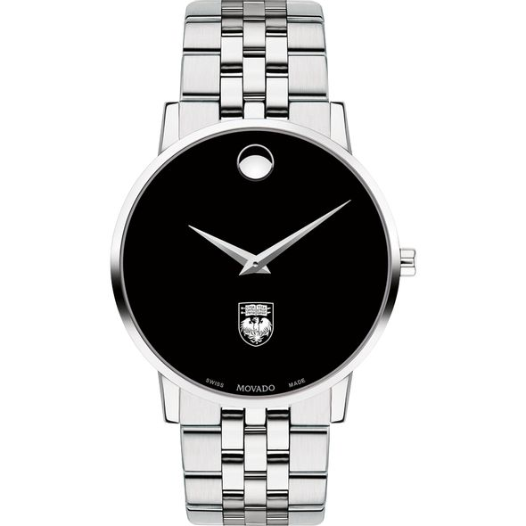 University of Chicago Men's Movado Museum with Bracelet - Image 2
