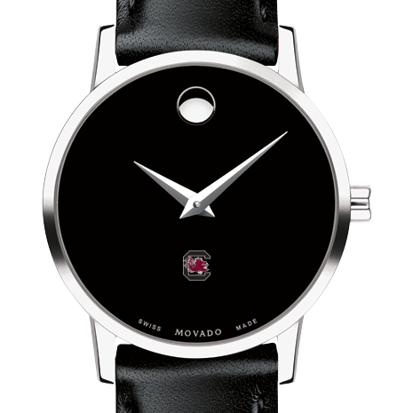 South Carolina Women's Movado Museum with Leather Strap
