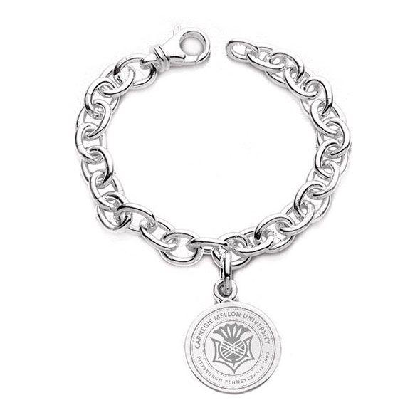 Carnegie Mellon University Sterling Silver Charm Bracelet