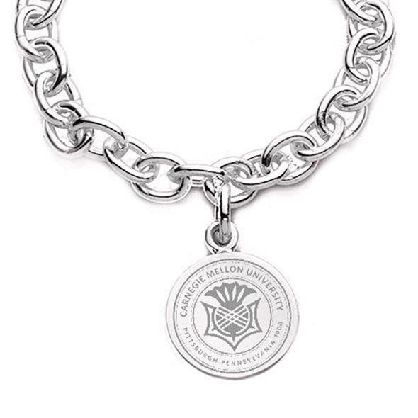 Carnegie Mellon University Sterling Silver Charm Bracelet - Image 2