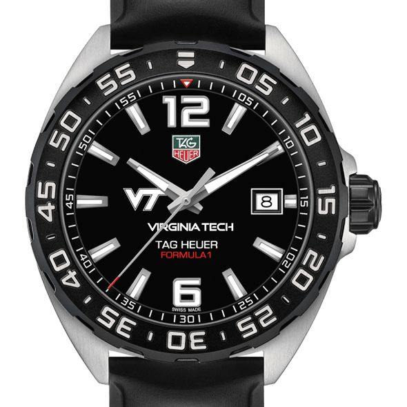 Virginia Tech Men's TAG Heuer Formula 1 with Black Dial