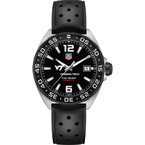 Virginia Tech Men's TAG Heuer Formula 1 with Black Dial - Image 2