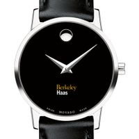 Berkeley Haas Women's Movado Museum with Leather Strap