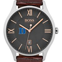 Duke University Men's BOSS Classic with Leather Strap from M.LaHart