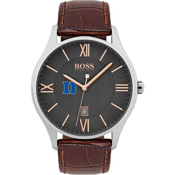 Duke University Men's BOSS Classic with Leather Strap from M.LaHart - Image 2