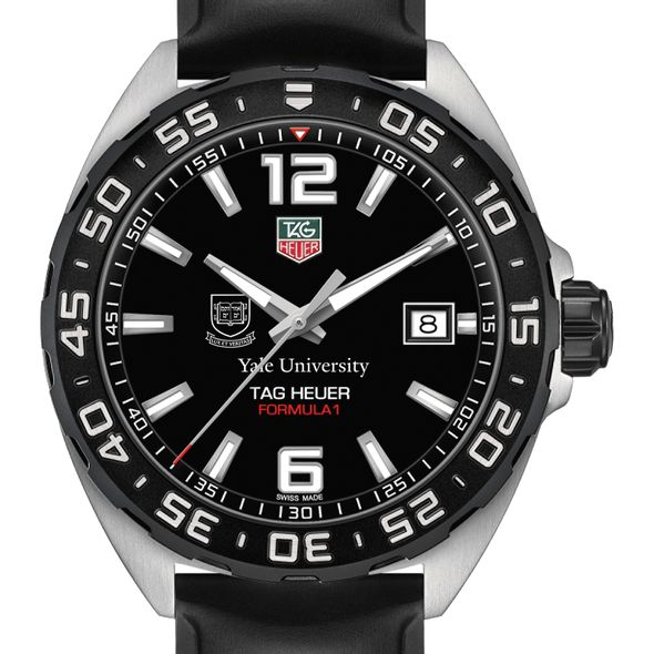 Yale University Men's TAG Heuer Formula 1 with Black Dial