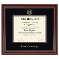 Elon Diploma Frame, the Fidelitas