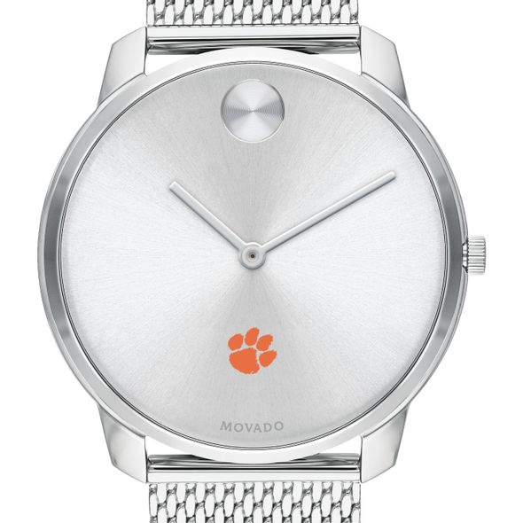 Clemson Men's Movado Stainless Bold 42