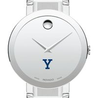Yale University Men's Movado Sapphire Museum with Bracelet