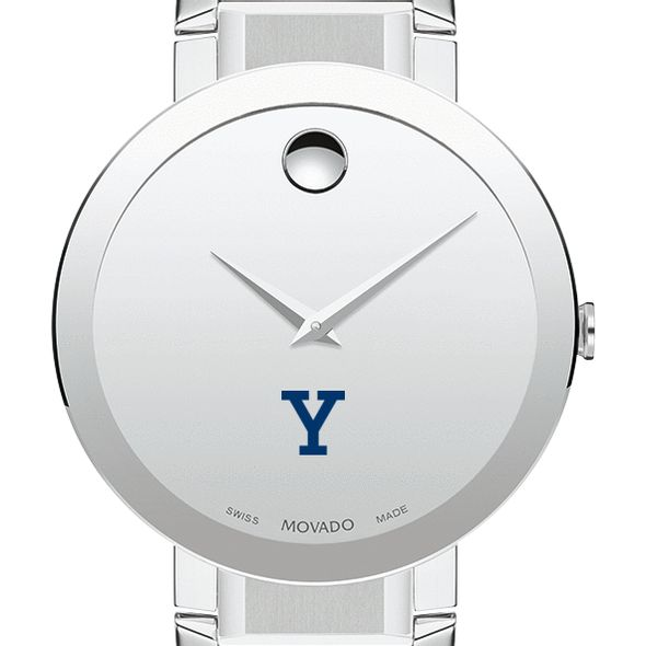 Yale University Men's Movado Sapphire Museum with Bracelet - Image 1