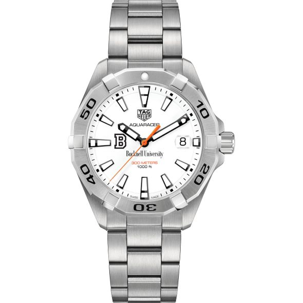 Bucknell University Men's TAG Heuer Steel Aquaracer - Image 2