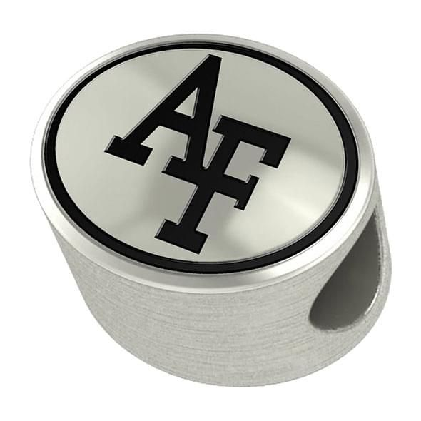 US Air Force Academy Enameled Bead in Black - Image 1
