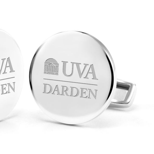 UVA Darden Cufflinks in Sterling Silver - Image 2