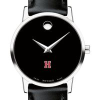 Harvard Women's Movado Museum with Leather Strap
