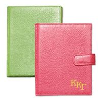 Kappa Kappa Gamma Leather Brag Book