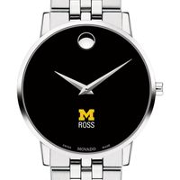 Michigan Ross Men's Movado Museum with Bracelet