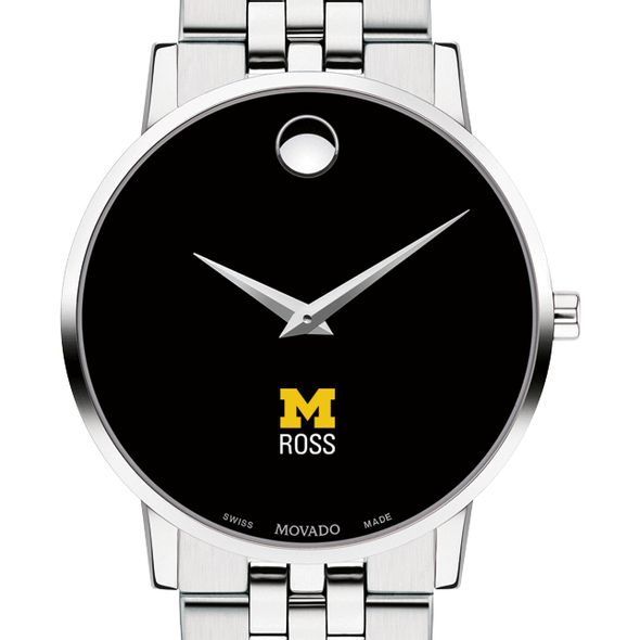 Michigan Ross Men's Movado Museum with Bracelet - Image 1