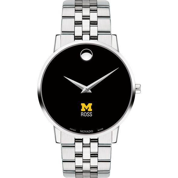 Michigan Ross Men's Movado Museum with Bracelet - Image 2