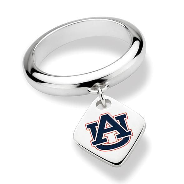 Auburn University Sterling Silver Ring with Sterling Tag