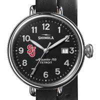 St. John's Shinola Watch, The Birdy 38mm Black Dial