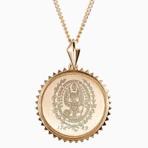 Georgetown 14K Gold Sunburst Necklace by Kyle Cavan