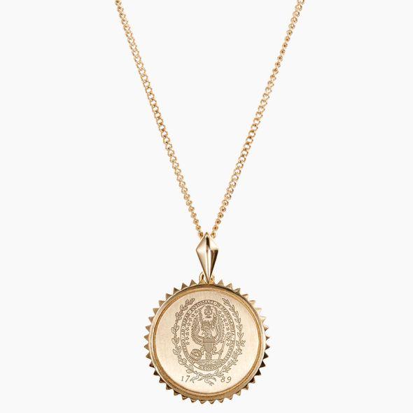 Georgetown 14K Gold Sunburst Necklace by Kyle Cavan - Image 2