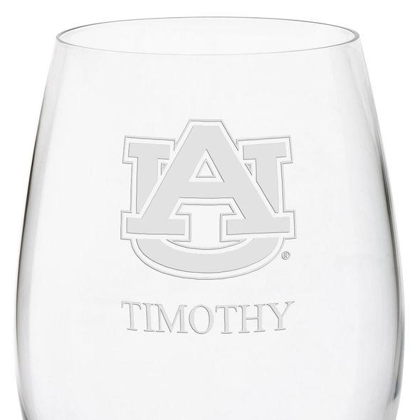Auburn University Red Wine Glasses - Set of 4 - Image 3