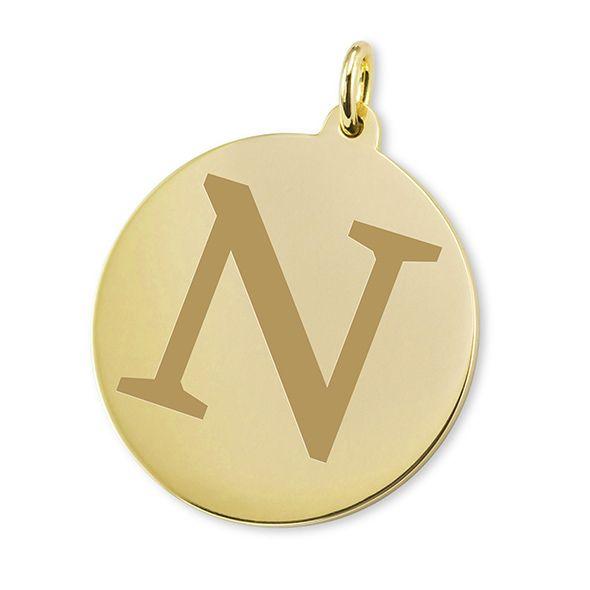 Northwestern 18K Gold Charm