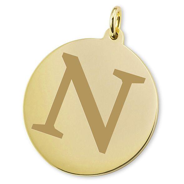 Northwestern 18K Gold Charm - Image 2