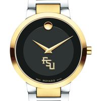 Florida State University Men's Movado Two-Tone Modern Classic Museum with Bracelet