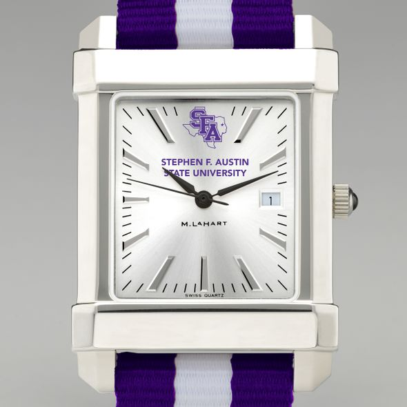 SFASU Collegiate Watch with NATO Strap for Men