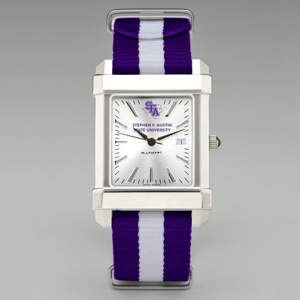 SFASU Collegiate Watch with NATO Strap for Men - Image 2