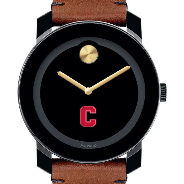 Cornell University Men's Movado BOLD with Brown Leather Strap