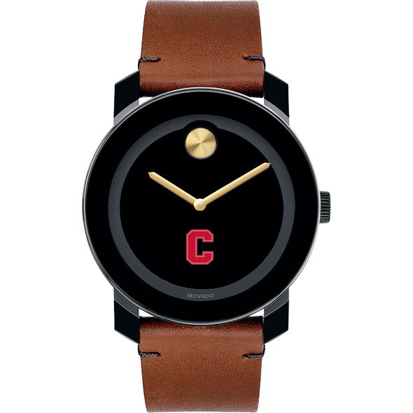 Cornell University Men's Movado BOLD with Brown Leather Strap - Image 2
