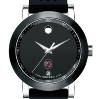 South Carolina Men's Movado Museum Sport Rubber Strap
