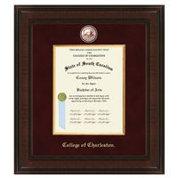 College of Charleston Diploma Frame - Excelsior