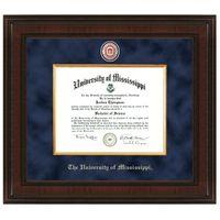 Ole Miss Excelsior Diploma Frame