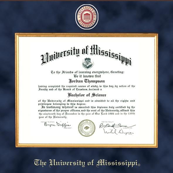 ole miss diploma frame excelsior graduation gift ole miss excelsior diploma frame